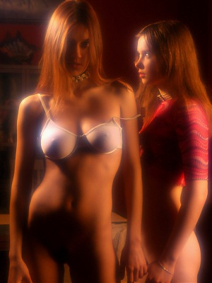 MET-ART PRESENTS ANNA AND ALESSANDRA BY PASHA - ORIGINAL SERIES 3000 PIXELS